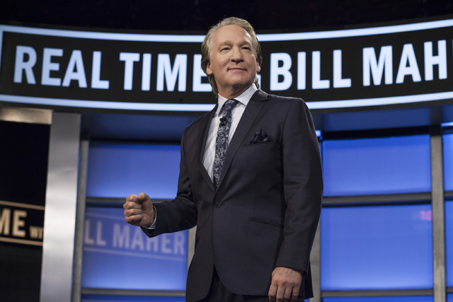 Bill Maher performs March 12 and 13 at The Mirage. (Courtesy/Janet Van Ham/HBO)