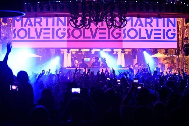 Martin Solveig performs at XS Nightclub inside the Wynn Las Vegas. (Courtesy/XS Nightclub)