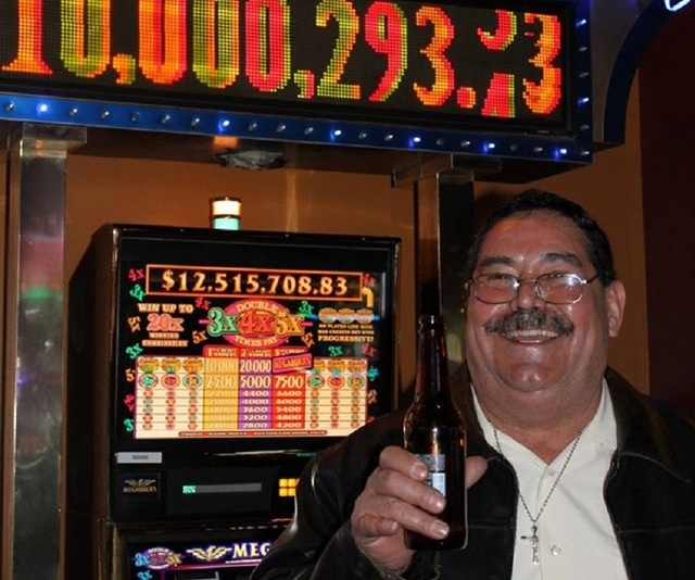 Efren Aguirre, 64, of Elko recently hit the Megabucks jackpot at Gold Dust West Casino in Elko, the Elko Daily Free Press reported. (Gold Dust West/Facebook)