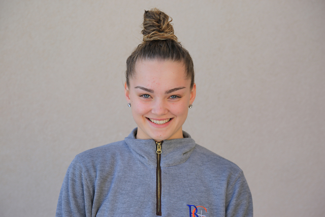 Megan Jacobs, Bishop Gorman (6-2, G/F): The senior was the co-Most Valuable Player of the Southwest League. Jacobs averaged 11 points, 5 rebounds, 5.3 assists and 2.7 steals per game. She has sign ...