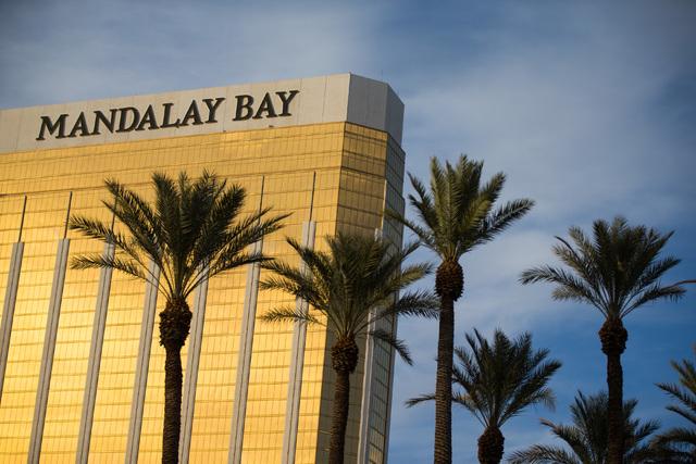 The Mandalay Bay hotel-casino is shown in Las Vegas on Friday, Feb. 26, 2016. Chase Stevens/Las Vegas Review-Journal Follow @csstevensphoto