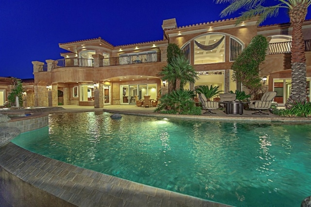 Mike Tyson's new house. (Courtesy Luxury Homes of Las Vegas)
