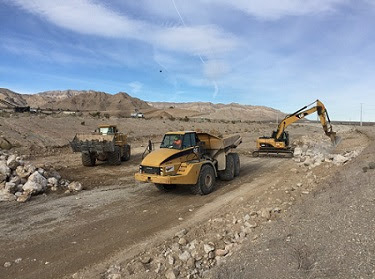 Construction of the 215 Beltway from Craig Road to Hualapai Way is underway. The project is set to turn 3 miles of the Beltway into a fully functioning freeway to ease traffic congestion and creat ...