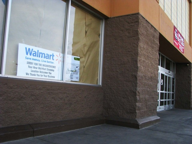 The former Walmart at 4350 N. Nellis Blvd. is one of 269 stores, including 154 stores in the U.S., that Walmart announced it would close in January. The store was the only Las Vegas one affected,  ...