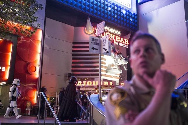 The Strip near Planet Hollywood casino-hotel is seen on Friday, Feb. 12, 2016, in Las Vegas. Erik Verduzco/Las Vegas Review-Journal Follow @Erik_Verduzco