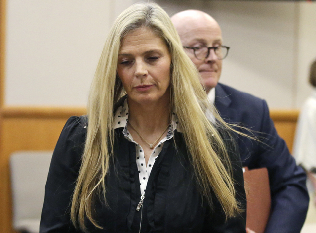 In this Feb. 16, 2016 file photo, Olympic gold-medal skier Picabo Street leaves the courtroom in Park City, Utah. (Rick Bowmer, Pool, File/AP)
