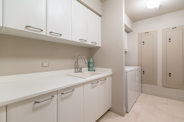 The laundry room. (COURTESY SHAPIRO & SHER GROUP)