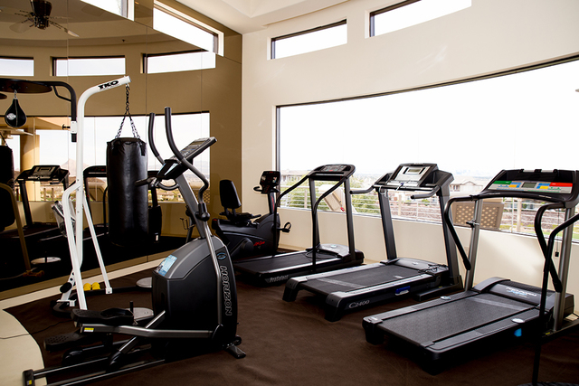 The gym. (TONYA HARVEY/REAL ESTATE MILLIONS)