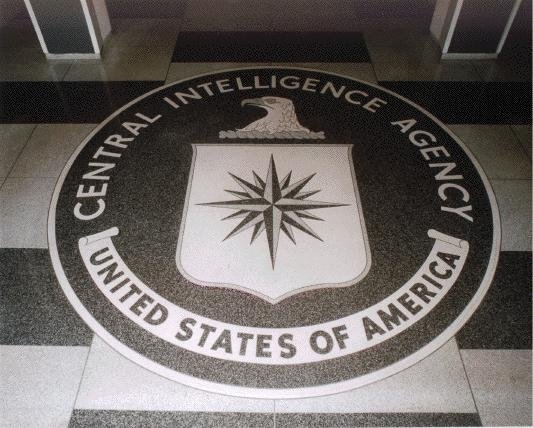 This CIA seal is a hallmark of the Original Headquarters Building lobby. The large granite seal -- which measures 16 feet in diameter -- has been the symbol of the CIA since Feb. 17, 1950. (CNN)