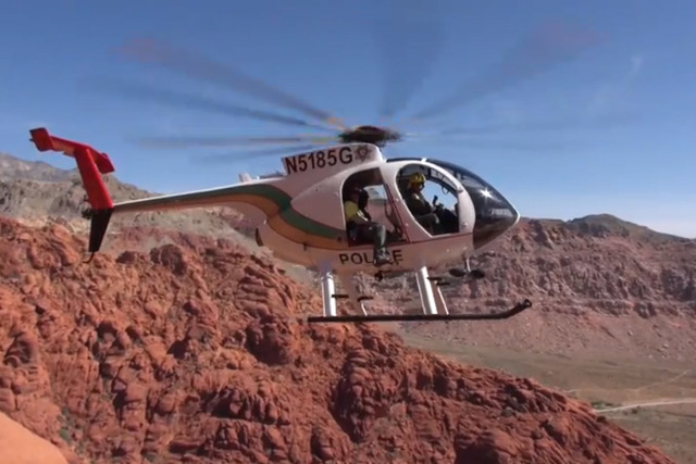 A Metro Search and Rescue helicopter is shown in this file photo. (Courtesy/YouTube)