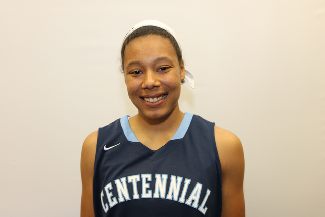 Samantha Thomas, Centennial (6-0, F/G): The junior was the Player of the Year in the Northwest League. Thomas, who scored 29 points in the state semifinals, averaged 15.0 points, 8 rebounds, 3 ste ...