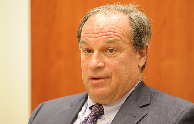Nevada Treasurer Dan Schwartz (Mark Damon/Las Vegas Review-Journal)