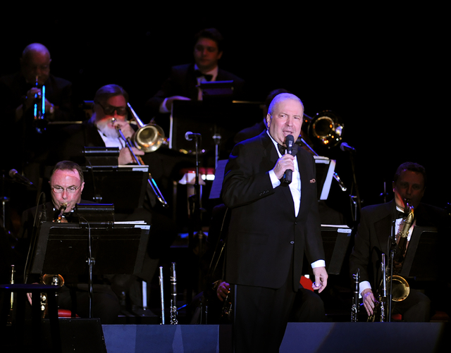 "Frank Sinatra Jr. and His Big Band Perform in ""Sinatra Sings Sinatra"" at The Orleans Hotel and Casino Friday, November 19, 2010. Brian Jones/Las Vegas News Bureau"