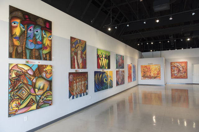 Galleria de Chavez is shown at 7885 W. Sahara Ave., Suites 107 and 108, March 14. Jason Ogulnik/View