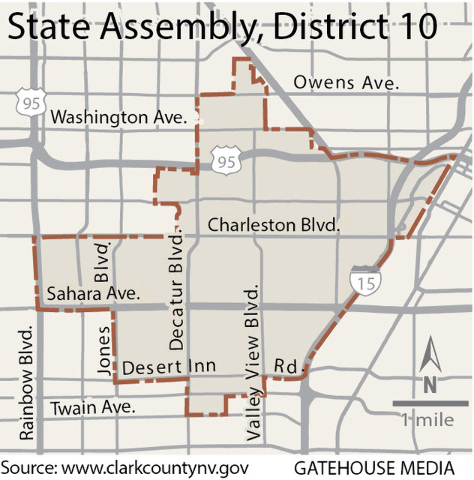 GOP Assemblywoman Shelly Shelton pulled off a surprising victory in the heavily Democratic district in 2014 against Jesse Holder, who was found ineligible to run for the seat because of a residenc ...