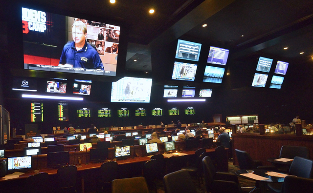 Part of the newly renovated race and sports book is shown at Boulder Station hotel-casino at 4111 Boulder Highway in Las Vegas on Thursday, March 3, 2016. Bill Hughes/Las Vegas Review-Journal