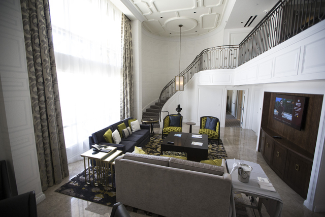 Take A Look At The Most Expensive Suites On The Las Vegas Strip