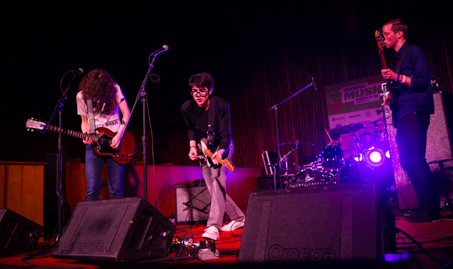 Car Seat Headrest performs at Central Presbyterian Church during the second day of the SXSW music festival in downtown Austin, Texas on Wednesday, March 16, 2016. Chase Stevens/Las Vegas Review-Jo ...