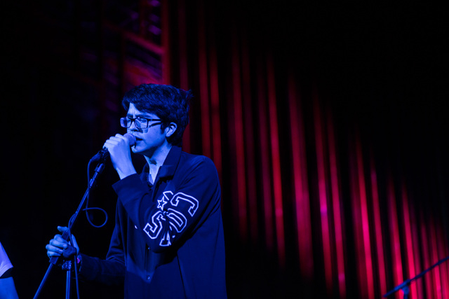Will Toledo of Car Seat Headrest performs at Central Presbyterian Church during the second day of the SXSW music festival in downtown Austin, Texas on Wednesday, March 16, 2016. Chase Stevens/Las  ...