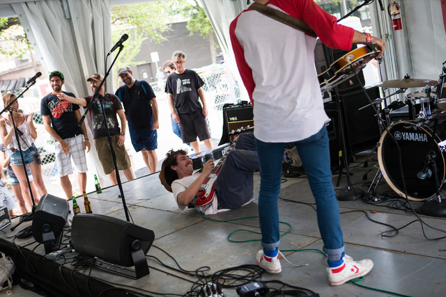 Los Nastys perform at the Sounds from Spain showcase during the second day of the SXSW music festival in downtown Austin, Texas on Wednesday, March 16, 2016. Chase Stevens/Las Vegas Review-Journal ...