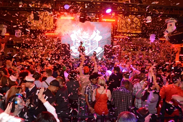 A Halloween party at Chateau Nightclub at the Paris Hotel and Casino. (Courtesy/Chateau Nightclub)
