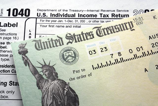 Tax return check. (Thinkstock)