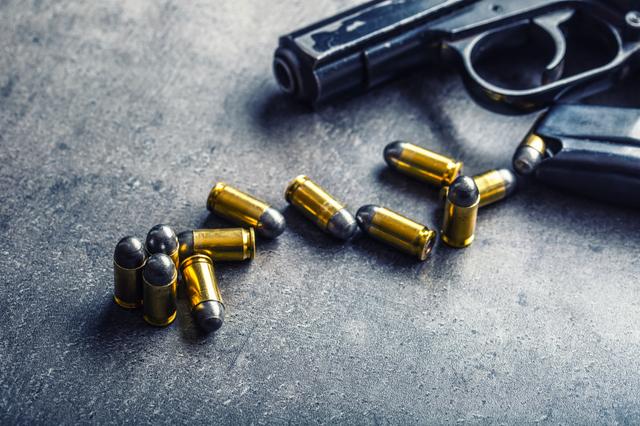 9mm pistol. (Thinkstock)
