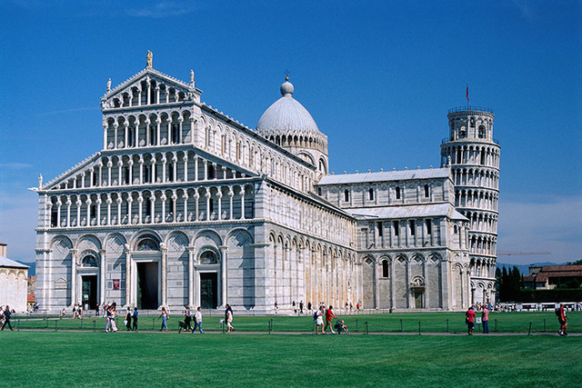 Building near Leaning Tower of Pisa  (Thinkstock)