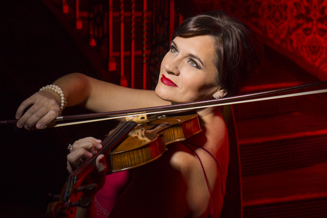 Las Vegas Philharmonic concertmaster De Ann Letourneau will play a rare Stradivarius at Saturday's Smith Center concert. TODD ROSENBERG PHOTOGRAPHY/COURTESY LAS VEGAS PHILHARMONIC