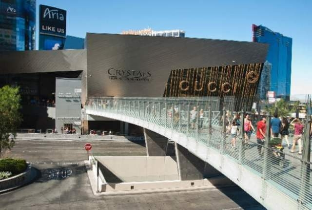 The Crystals mall at CityCenter has been sold for $1.1 billion. Las Vegas Review-Journal file photo.