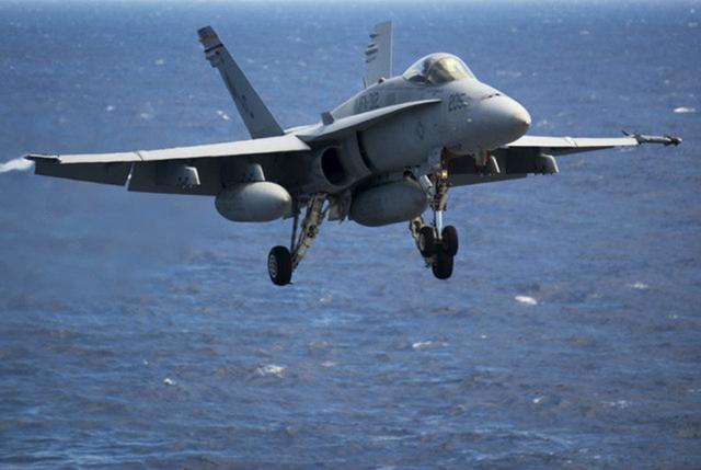 F-18C Hornet (US Navy Photo)