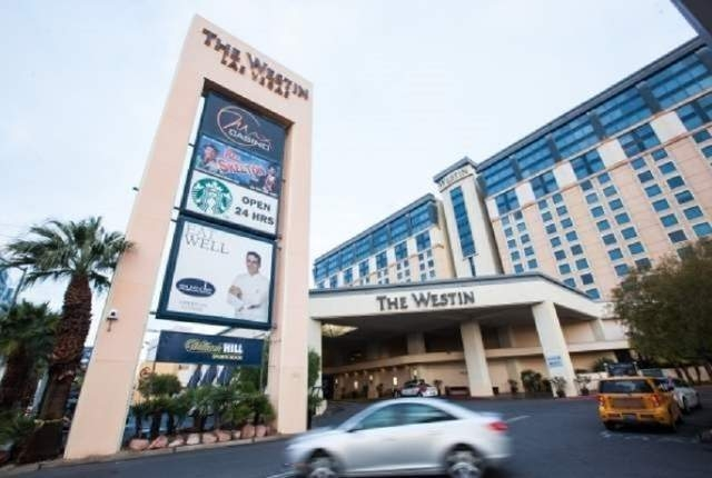 The The Westin hotel-casino is seen at 160 E. Flamingo Road in Las Vegas on Monday, Jan. 12, 2015. (Chase Stevens/Las Vegas Review-Journal file photo)
