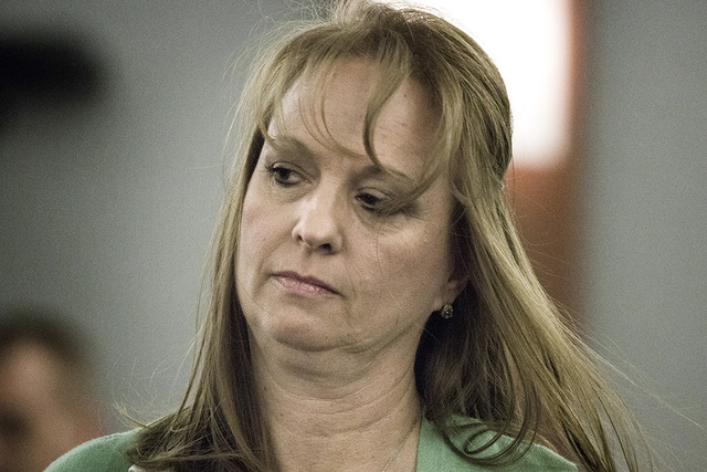 North Las Vegas Municipal Court Judge Catherine Ramsey during a recall hearing at Regional Justice Center, 200 Lewis Avenue on Thursday, June 18,2015. Follow Jeff Scheid on Twitter @jlscheid (Jeff ...