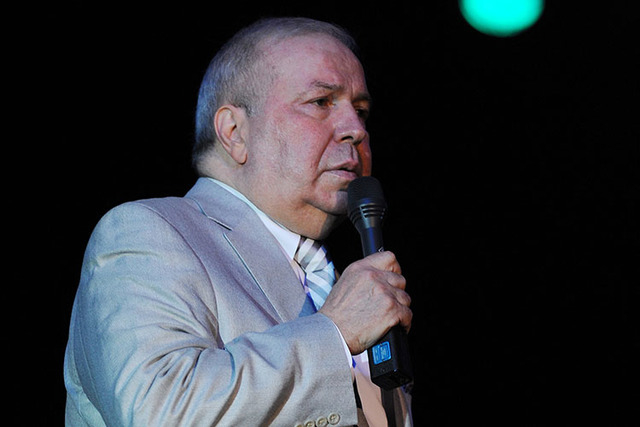 Frank Sinatra Jr. performs at the Seminole Coconut Creek Casino on July 12, 2012 in Coconut Creek, Florida. (Photo by Jeff Daly/Invision/AP)