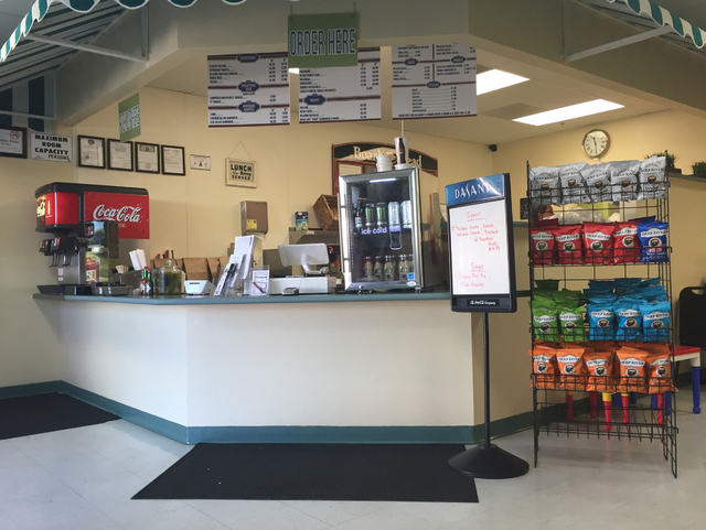 The inside of Woods Family Sandwiches is shown at 931 American Pacific Drive, Suite 106. Caitlyn Belcher/Special to View