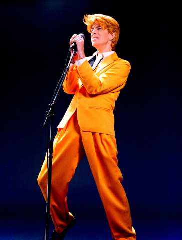 David Brighton's tribute to David Bowie is planned for April 30 inside Club Madrid at Sunset Station, 1301 W. Sunset Road. Special to View