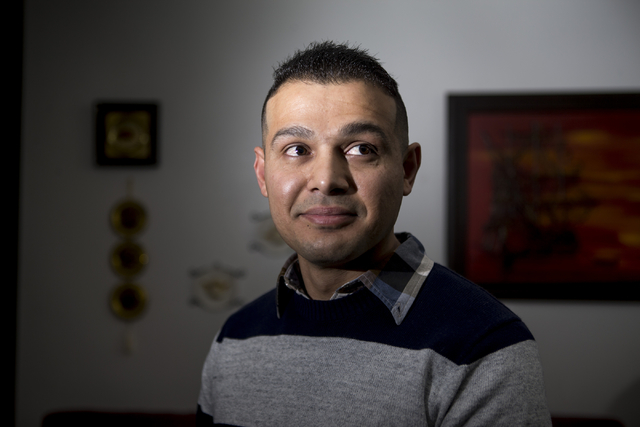 Mohammad Alfalahi speaks about getting his U.S. citizenship application denied during an interview at his home on Tuesday, Jan. 26, 2016, in Las Vegas. Erik Verduzco/Las Vegas Review-Journal Follo ...