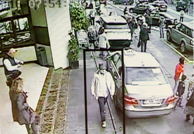 A suspect in the attack which took place at the Brussels international airport of Zaventem is seen in this CCTV image made available by Belgian police on April 7, 2016.  (Reuters/CCTV/Belgian Fede ...