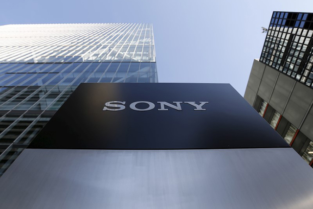 A logo of Sony Corp is seen outside its headquarters in Tokyo, Japan, January 27, 2016. (Yuya Shino/REUTERS)