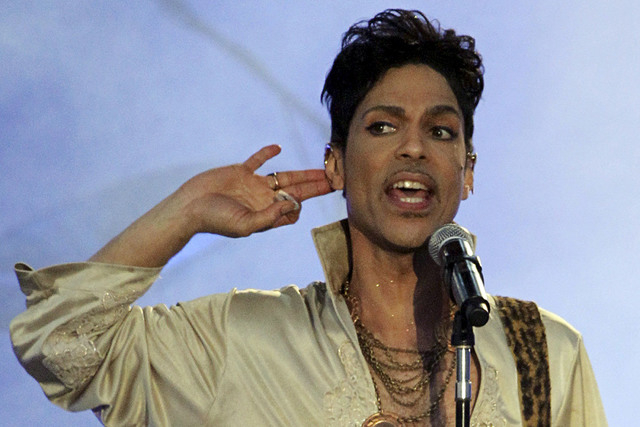 Prince performs at the Hop Farm Festival near Paddock Wood, southern England July 3, 2011.  (Olivia Harris/Reuters)