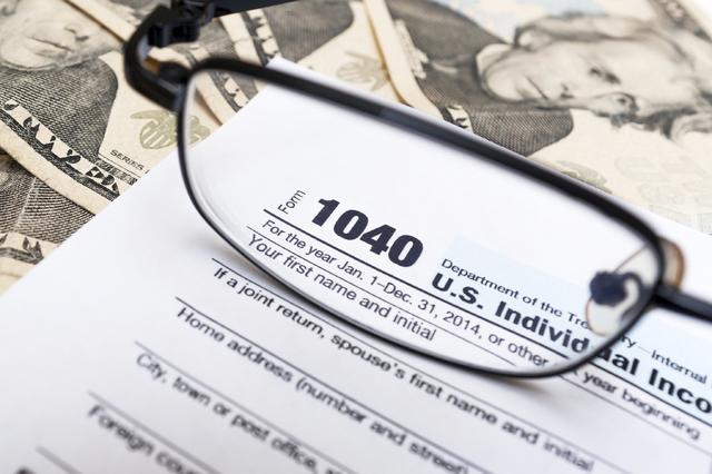 IRS tax form. (Thinkstock)