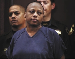 Brenda Stokes is shown in court in this undated file photo. (Las Vegas Review-Journal file)