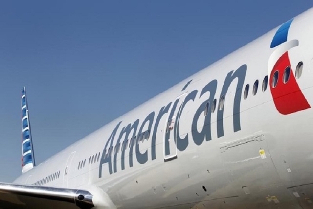 An American Airlines aircraft is show. (Mike Stone/Reuters)