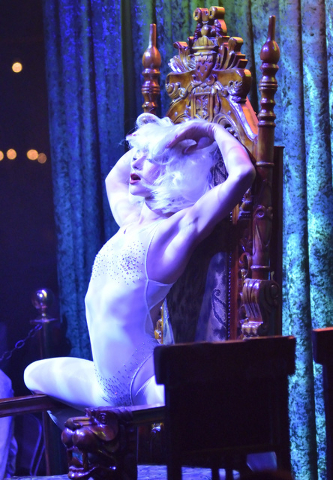 "Emily  England performs in ""Absinthe"" at Caesars Palace at 3570 Las Vegas Blvd. South on Wednesday, March 23, 2016. (Bill Hughes/Las Vegas Review-Journal)"