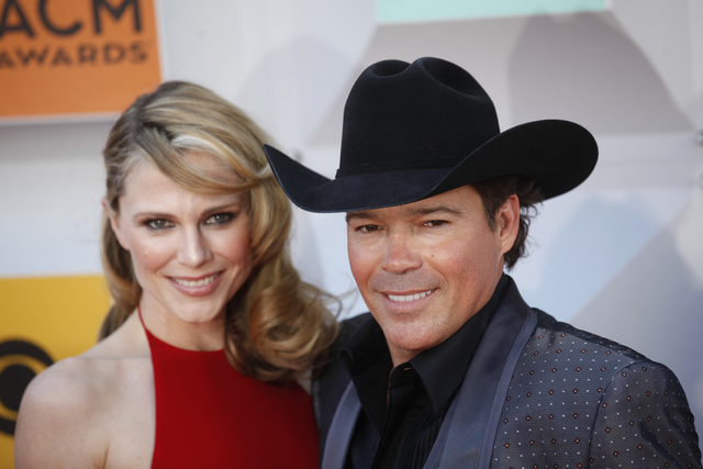 Jessica Craig and Clay Walker walk the red carpet at the 51st Academy of Country Music Awards Sunday, April 3, 2016, at the MGM Grand in Las Vegas. (Rachel Aston/Las Vegas Review-Journal) Follow @ ...