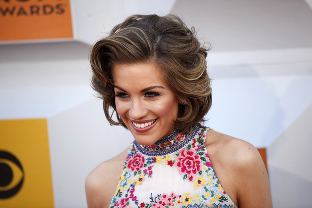 Miss America Betty Cantrell walks the red carpet at the 51st Academy of Country Music Awards Sunday, April 3, 2016, at the MGM Grand in Las Vegas.  (Rachel Aston/Las Vegas Review-Journal) Follow @ ...