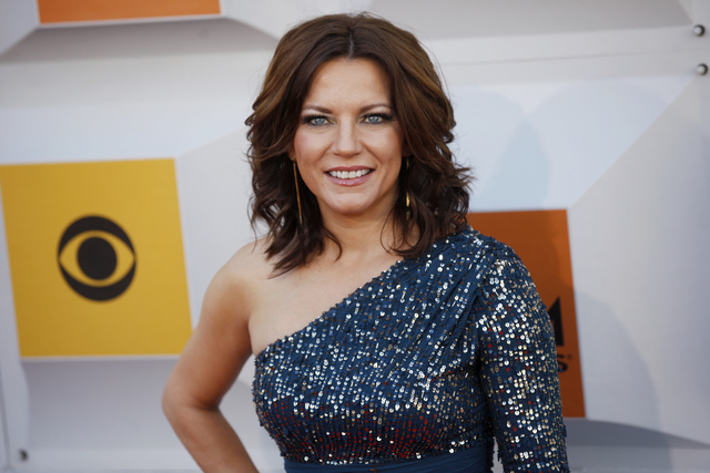 Martina McBride walks the red carpet at the 51st Academy of Country Music Awards Sunday, April 3, 2016, at the MGM Grand in Las Vegas.  (Rachel Aston/Las Vegas Review-Journal) Follow @rookie__rae