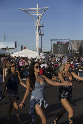 "American Country Music's ""Party for a Cause,"" event at the Las Vegas Festival Grounds on Sunday, April 3, 2016 in Las Vegas. Benjamin Hager/Las Vegas Review-Journal @benjaminhphoto"