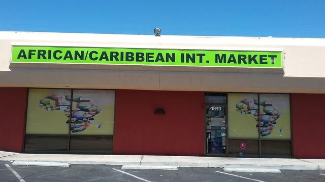 The African/Caribbean International Market, 4640 W. Charleston Blvd., offers imported grocery items, clothing and crafts. Ginger Meurer/Special to View