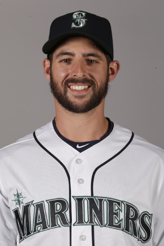 This is a 2016 photo of Donn Roach of the Seattle Mariners baseball team. This image reflects the Seattle Mariners active roster as of Saturday, Feb. 27, 2016, when this image was taken. (Charlie  ...